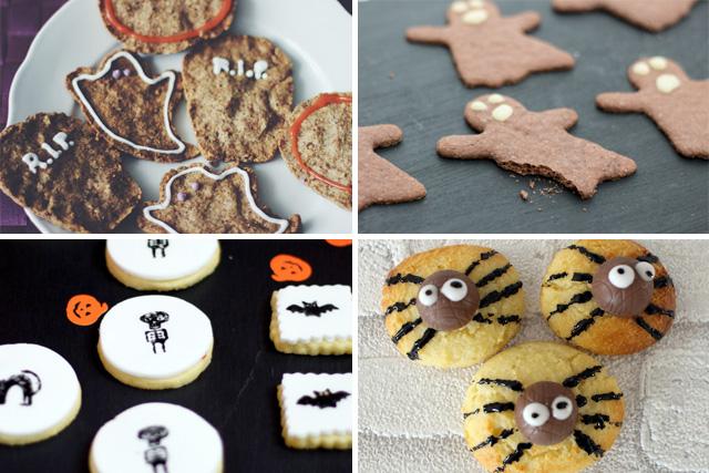 Halloween Linktipps Cookies Rezepte