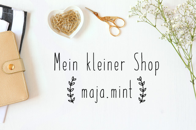 Mein kleiner Shop maja.mint - Stock Photo Golden