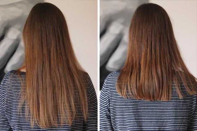 Friseur vorher - nachher