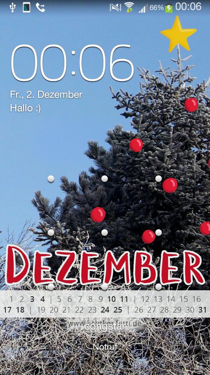 free Wallpaper Dezember 2016 iPhone - Winter Weihnachten Schnee
